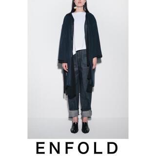ENFOLD - enfold パンツ トラウザー  デニム エンフォルド  コート