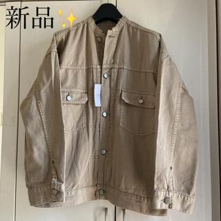 イエナ(IENA)の新品✨タグ付き‼︎ミリタリージャケット シャツ オーバーサイズ 38 IENA(ミリタリージャケット)