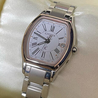 CITIZEN - 【CITIZEN】クロスシー xC ソーラー電波 チタン 腕時計