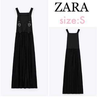 ZARA - 大人気❣️希少❗ ZARA ザラ マッチングディテール&バックル ワンピース