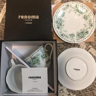 RENOMA - renoma paris ペア コーヒーカップ レノマ