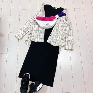 Spick and Span - ワンマイルワンピースコーデ♡スピック&スパンウールリッチネルシャツ
