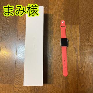 Apple - APPLE WATCH SPORT 42 PN140-210