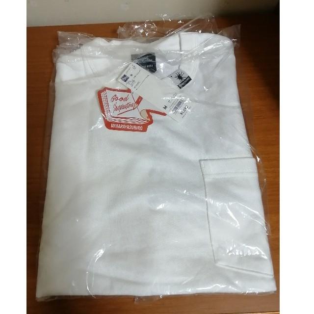GU(ジーユー)のGU ミハラヤスヒロ フハクコンビネーションT(5分袖)MY メンズのトップス(Tシャツ/カットソー(半袖/袖なし))の商品写真