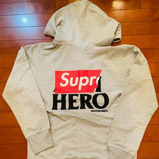 シュプリーム(Supreme)のSupreme Antihero zip up Sweatshirt(パーカー)