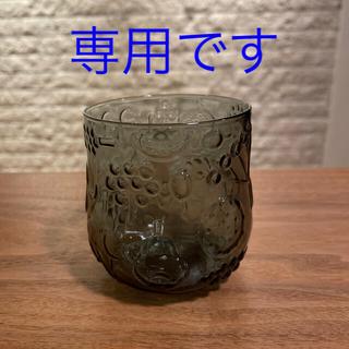 イッタラ(iittala)のフルッタ タンブラー グレー①(グラス/カップ)