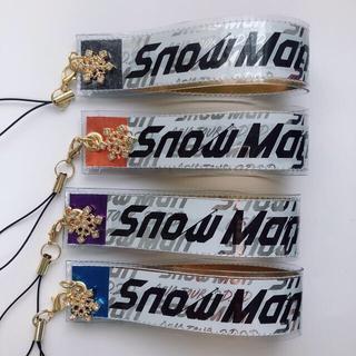Johnny's - SnowMan 銀テ ストラップ