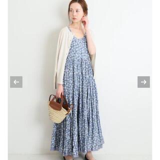 IENA - IENA MARIHA/マリハ】草原の虹のドレス ノースリーブ