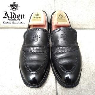 オールデン(Alden)のALDEN オールデン UA別注 3219 メダリオン キルトローファー(スリッポン/モカシン)