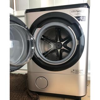 日立 - 送料無料 ドラム式洗濯機 風アイロン BD-NX120EL-N