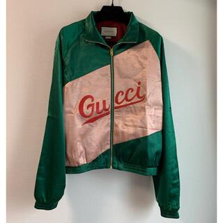Gucci - 【GUCCI】トラックジャケット スクリプトジャケット ブルゾン ジミン着 46