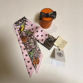 Hermes - エルメス  ツイリー ジャングルラブラブ エトゥープ ピンク 新品未使用