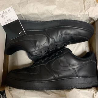 NIKE - NIKE AIR FORCE 1 '07 BLACK 29cm