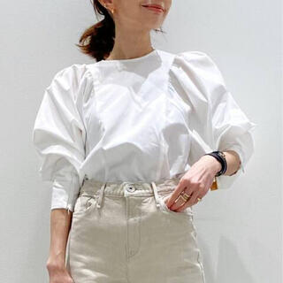 L'Appartement DEUXIEME CLASSE - 新品未使用☆アパルトモン☆ Gather Blouse/ホワイト
