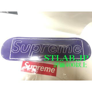 Supreme - 21SS Supreme KAWS Chalk Logo Skateboard