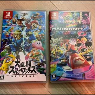 ニンテンドースイッチ(Nintendo Switch)の大乱闘スマッシュブラザーズ SPECIAL マリオカートデラックス8(家庭用ゲームソフト)