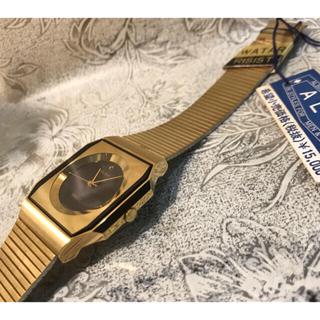 セイコー(SEIKO)の★ セイコー ALBA ゴールドフェイス ユニセックス 腕時計 ★ 未使用新品(腕時計(アナログ))