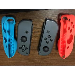 Nintendo Switch - シリコンカバー付 ジョイコン スイッチ