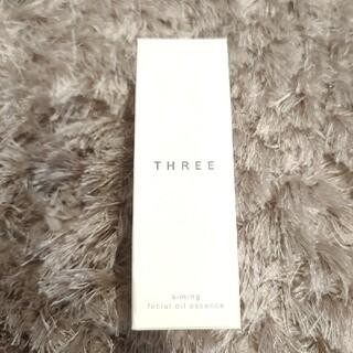 スリー(THREE)のスリー THREE エミングフェイシャルオイルエッセンス 28ml(美容液)