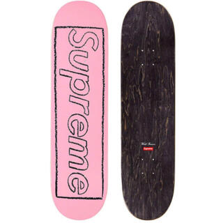 Supreme - supreme kaws skateboard deck ピンク