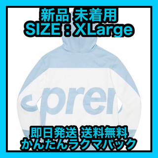 Supreme - Big Logo Hooded Sweatshirt SIZE : XLarge