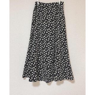 w closet - 花柄 マーメイドスカート