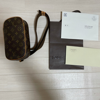 LOUIS VUITTON - Louis Vuitton ポシェットガンジェ