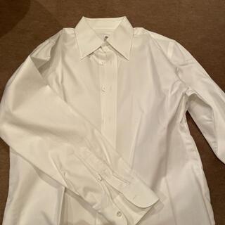 ルイジボレッリ(LUIGI BORRELLI)のルイジボレッリxバーニーズ 白オックスフォードボタンダウン40(シャツ)