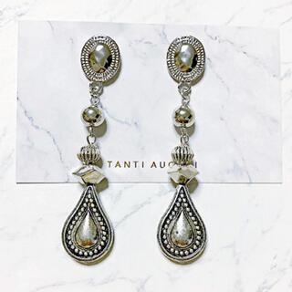 Ameri VINTAGE - vintage silver dropピアス
