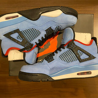 NIKE - TRAVIS SCOTT AIR JORDAN 4 CACTUS JACK