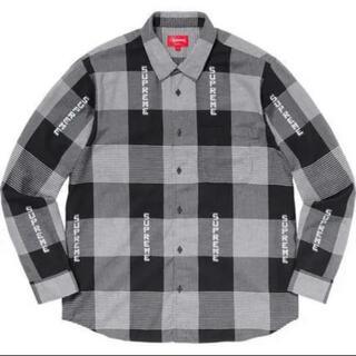 シュプリーム(Supreme)のSupreme Logo Plaid Shirt(シャツ)