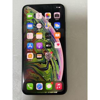 アイフォーン(iPhone)のiphone XS Max Gray 256Gb Simフリーバッテリー100%(スマートフォン本体)