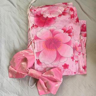 ダズリン(dazzlin)の桜柄浴衣 桜の作り帯(リボン)のおまけ付き♡(浴衣)