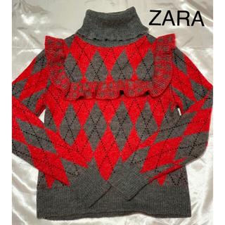 ZARA - 美品!ZARAタートルニットセーター