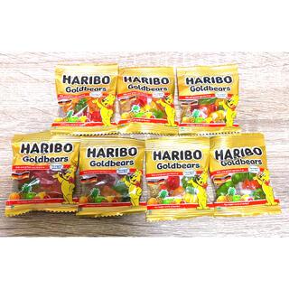 ハリボー ゴールドベアー グミ 10g✖️7袋 送料込み コストコ(菓子/デザート)