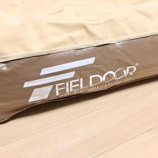 FIELDOOR - FIELDOOR エアーベッド シングルサイズ Flocked Air Bed