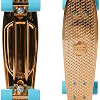 penny ペニー スケートボード 22インチ スケボー メタリック ゴールド