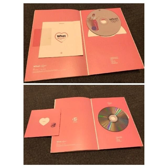 Waste(twice)(ウェストトゥワイス)のTwice 3rd ミニアルバム What is Love? フォトブック付 エンタメ/ホビーのCD(K-POP/アジア)の商品写真