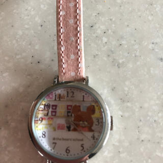 腕時計 くまのがっこう 電池切れ(腕時計)