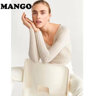 マンゴ(MANGO)のmango ニット /   セーター  トップス(ニット/セーター)