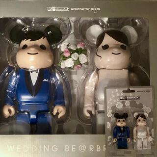 MEDICOM TOY - BE@RBRICK グリーティング 結婚4 PLUS 100% 400%