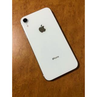 iPhone - iPhone XR White 128 GB SIMフリー 美品