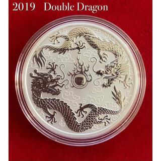 銀貨 純銀 1オンス  未流通品 新品 ドラゴン 龍 silver99.9