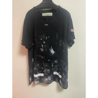 オフホワイト(OFF-WHITE)のoff white ギャラクシーtシャツ サイズM(Tシャツ/カットソー(半袖/袖なし))