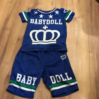 BABYDOLL - ベビードール メッシュ 上下 Tシャツとパンツ サイズ100