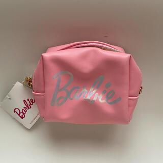 バービー(Barbie)の★バービー★ミニ ポーチ ピンク 新品 未使用 タグ付き(ポーチ)