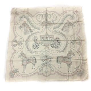Hermes - エルメス HERMES Paperoles パプロール スカーフ カレ90 シル