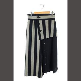 ADORE - アドーア ADORE 20AW レジメンタルストライプスカート 2点セット タイ