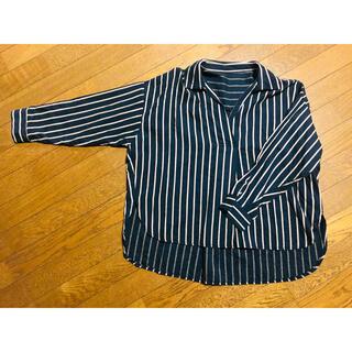 ドゥドゥ(DouDou)のDOUDOU♡ストライプシャツ(シャツ/ブラウス(長袖/七分))