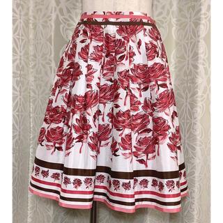 M'S GRACY - エムズグレイシー(M'S GRACY) 花柄スカート